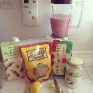 healthy smoothie recipe, dr hyman's detox smoothie, meal replacement smoothie